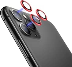 [Set of 3] Eelliss Metal Camera Lens Protector for iPhone...