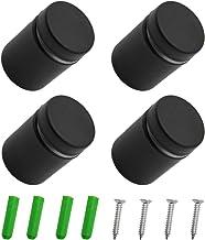 WJUAN 4 stuks reclame schroef nagels teken houders nagelglas standoff bevestigingen, schroef glas standoff houder voor mon...
