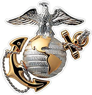 USMC Emblem (M62) Marine Corp Decal Sticker Car/Truck Laptop/Netbook Window