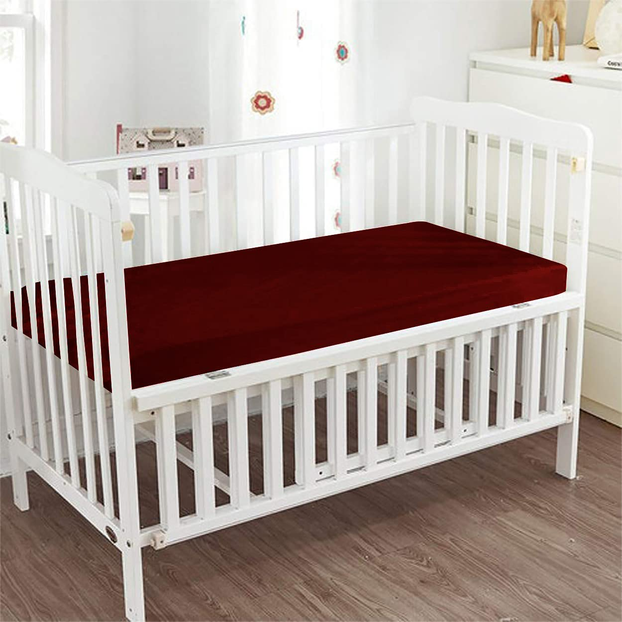 GetBedding Sales of Max 80% OFF SALE items from new works - Fitted Crib Sheet Color Cotto 100% Egyptian Solid