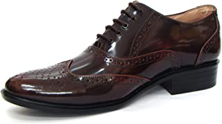 ASM Calf Leather Brown Shoes with Laces
