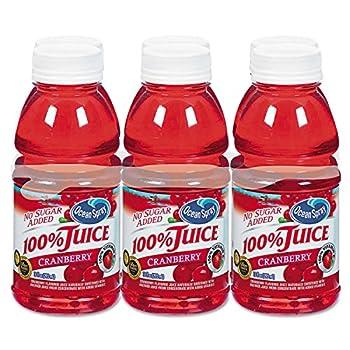 100%25+Juice%2c+Cranberry%2c+10oz+Bottle%2c+6%2fPack