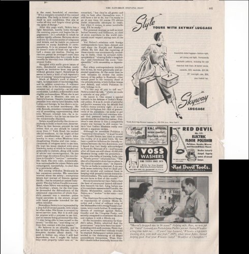 Skyway Luggage Style Yours With Skyway Luggage Travel 1948 Vintage Antique Advertisement