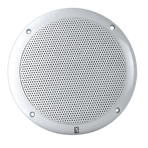 "PolyPlanar 6"" Dual Cone Integral Grill Speaker Pair White"