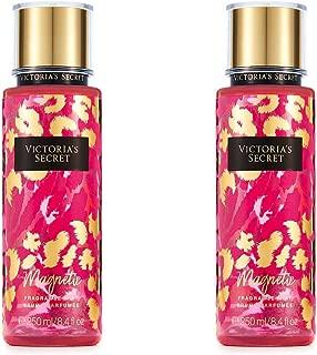 Set of 2 Victoria's Secret Magnetic Fragrance Mists Full Size 8 Ounce (250 Milliliter) Each
