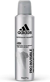 Desodorante Aerossol Invisible Masculino, Adidas