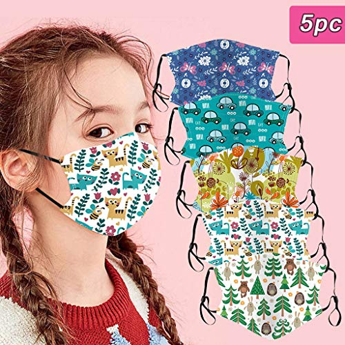 Sale!! GUCIStyle Cute Printing, Face Màsc for Kids - Mouth Face/Protect Cotton Washable Mouth and N...