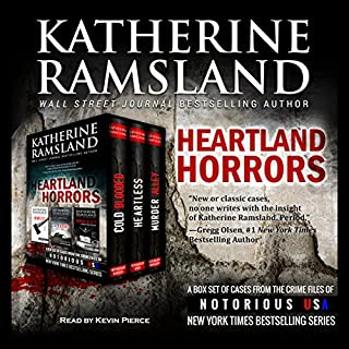 Heartland Horrors audiobook cover art