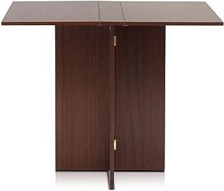 Furinno FNAJ-11072 Boyate Special Simple Folding Table, Walnut