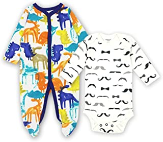 5c54e30b50caa CARMELA HILL WILLIAMS Newborn Toddler Infant Baby Girl Boy Long Sleeve  Cotton Cartoon Cute Print Clothes