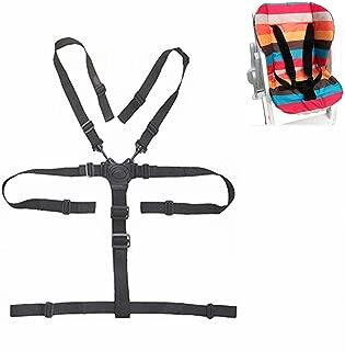 5 Point Harness Baby Chair Stroller Safety Belt Universal High Chair Seat Belt for Wooden High Chair Stroller Pushchair