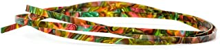1pc 5 Feet Colorful Celluloid Guitar Binding Body Project Purfling Strip for Guitar