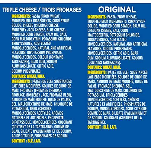 Dîner Kraft Dinner Macaroni Fromage Original 12 portions individuelles de 58g - 5