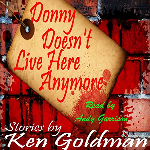 Donny Doesn't Live Here Anymore audiobook cover art