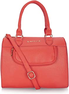 Giordano Women's Satchel Handbag Red
