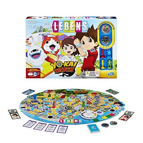 Hasbro Spiele B6493100 - Spiel des Lebens Yokai Watch, Familienspiel