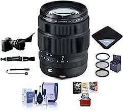 Fujifilm GF 32-64mm f/4 R LM WR Wide-Angle Zoom Lens - Bundle with 77mm Filter Kit, Flex Lens Shade, Lens Wrap, Lens Pen C...