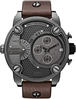 Diesel SBA Only The Brave Brown Dial Men's Watch - DZ7258