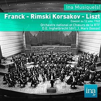Franck - Korsakov - Liszt