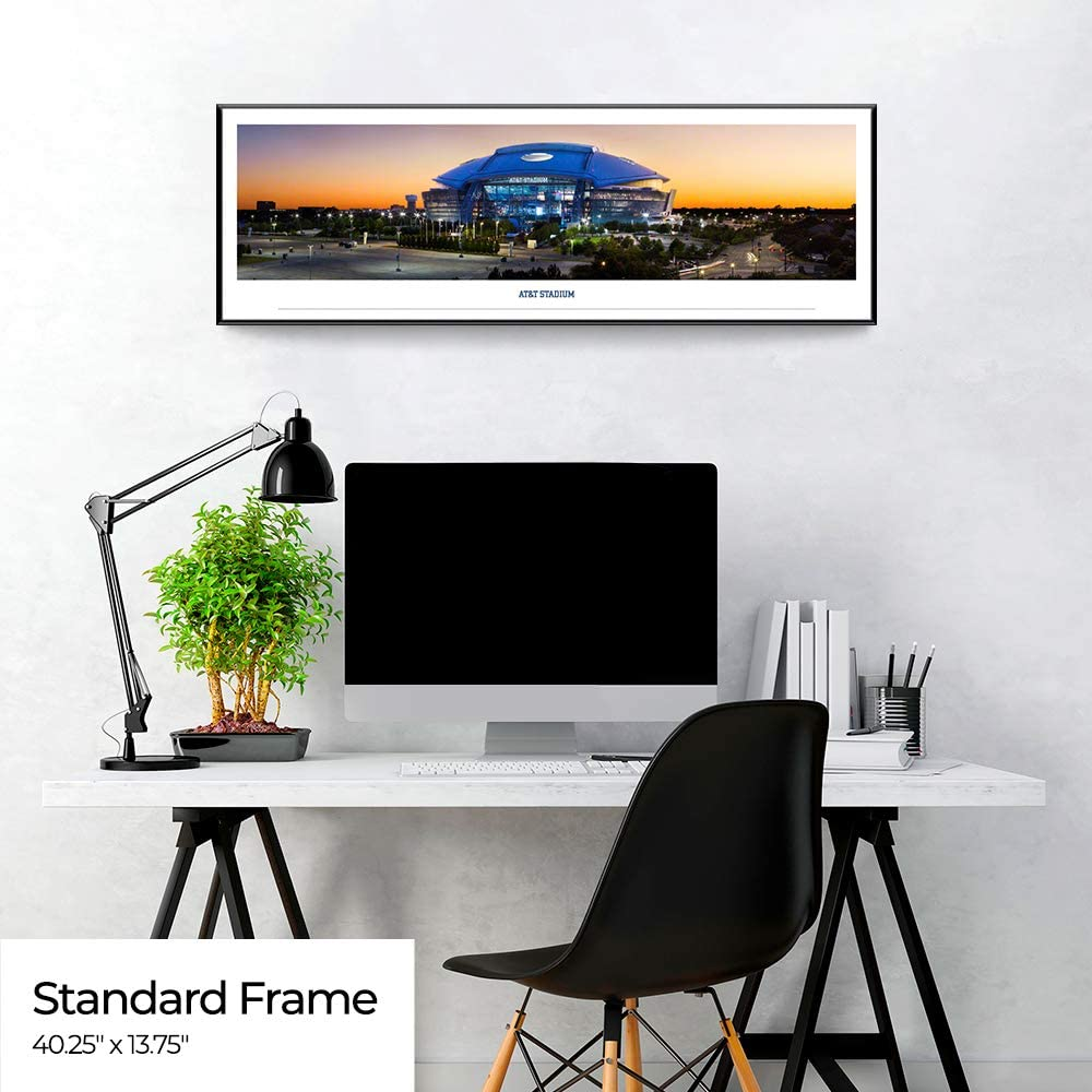AT/&T Stadium Panoramic Posters and Framed Pictures by Blakeway Panoramas