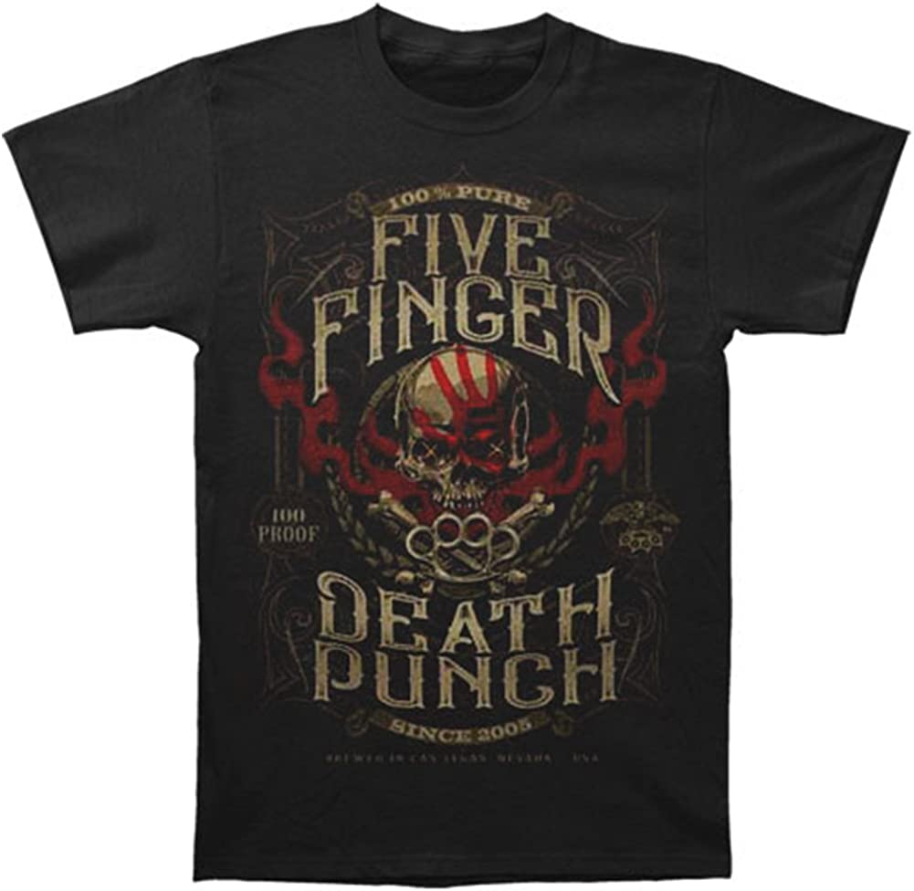 Time sale Five Finger Death Punch - 100% Quality inspection Adult 100 Pure Proof T-Shirt