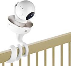 Versatile Twist Mount Without Tools or Wall Damage Motorola Baby Monitor Infant Baby Camera Holder Stand Fit Baby Camera with 1//4 Thread Hole MoKo Baby Monitor Mount Compatible with Arlo Gray