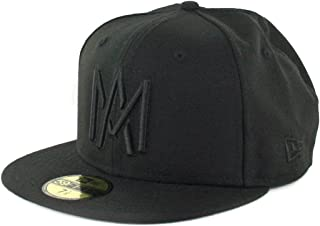 4f851f025073b2 New Era 5950 Mexicali Aguilas Blackout Fitted Hat LMP Mexico Baseball Cap