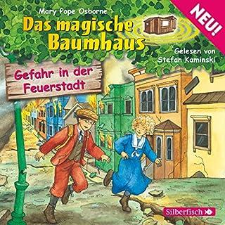 Gefahr in der Feuerstadt audiobook cover art