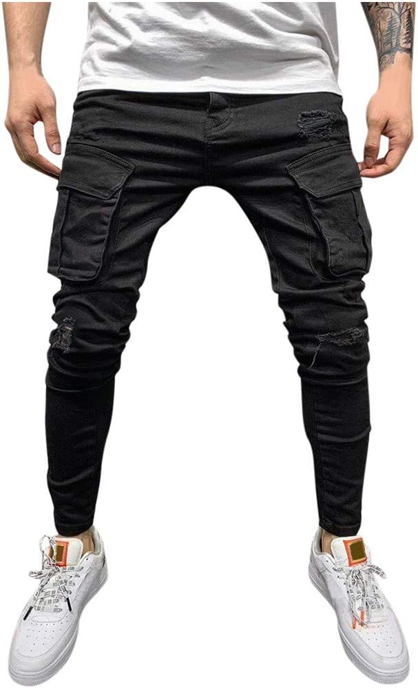 Men's Relaxed Max 80% OFF Fit Jeans Mens Sl Regular Skinny Jean Classic Fashion