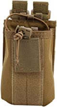 Interphone Storage Bag Pouch,Nylon Lightweight Military Water Walkie Talkie Case Holder Molle Radio Pouch for Outdoor Military Use for Molle System