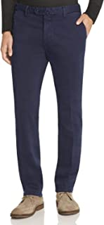 New $235 L.B.M 1911 Navy Blue Tailored FIT Chino Pants Size EU:54R/US:38