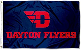 College Flags and Banners Co. Dayton Flyers Red Letters Flag