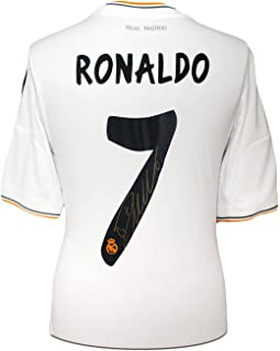 Cristiano Ronaldo Signed Real Madrid Soccer Jersey 2013-14