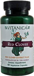 Vitanica, Red Clover, Red Clover Extract Plus, Vegan, 60 Capsules