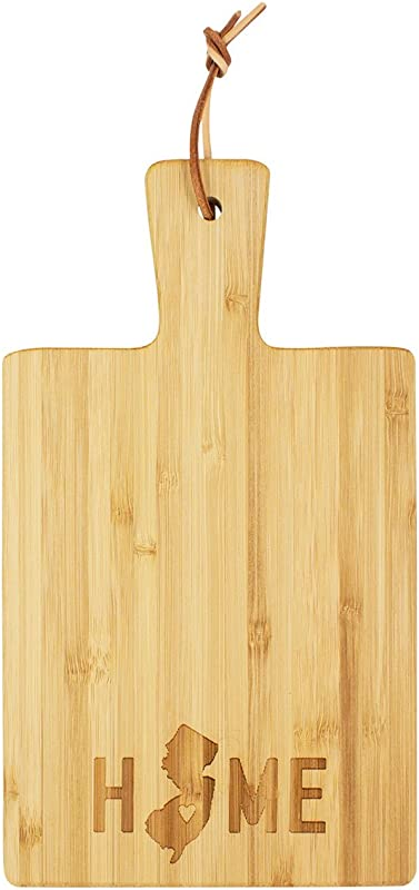 About Face Designs 122830 New Jersey Cutting Board 8 5 X 4 75 X 25 Natural