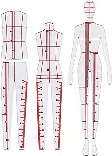 Conjunto de 4 piezas Xiehaige para medición de ropa para el cuerpo, que consiste en