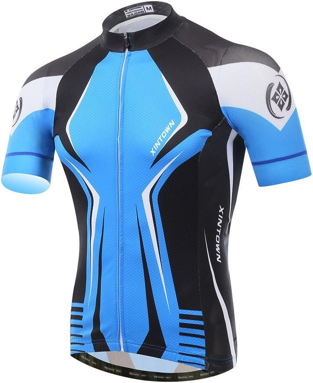 Men's cycling jersey short sleeve Sportswear Breathable Shirts MXXXL