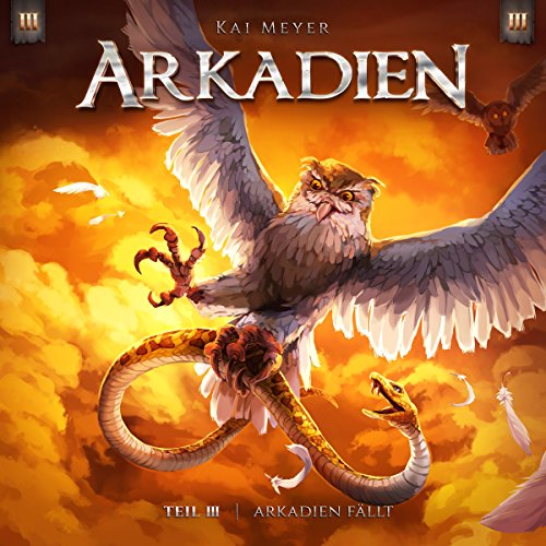 Arkadien fällt audiobook cover art