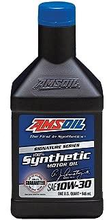 AMSOIL 100% Synthetic 10W-30 Motor Oil (One U.S. Quart)