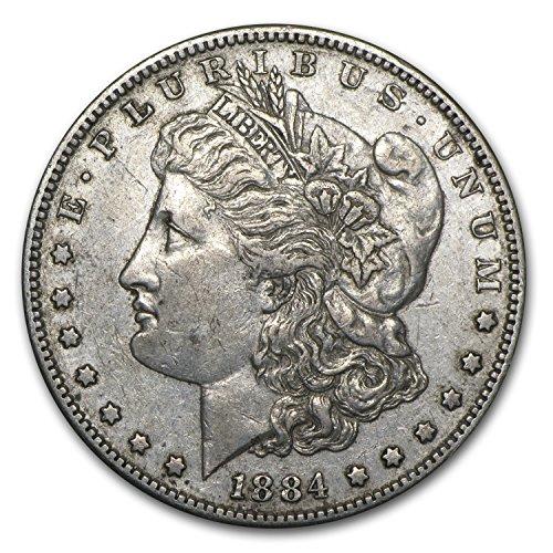 1884 S Morgan Dollar XF $1 Extremely Fine