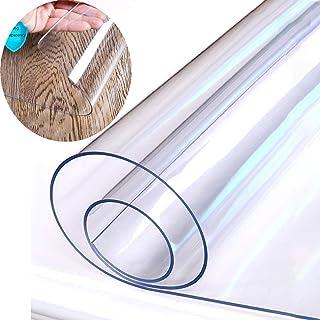 Lona de Tela Impermeable Transparente Espesado 2 mm Anti-escaldado y a Prueba de Aceite, Mantel de Lona de PVC, Cubierta de Tabla de Mesa de Centro de Lona, Lluvia de balcón