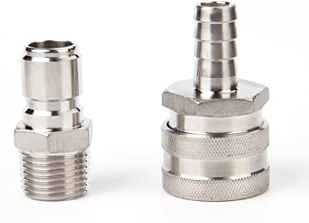 featured product Stainless Steel Quick Disconnect Set