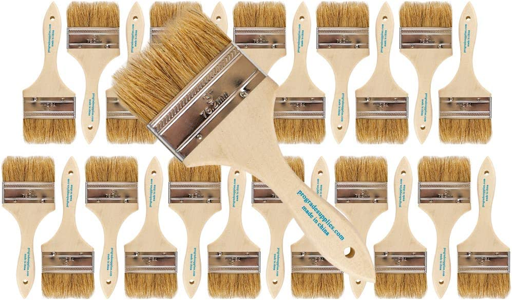 Fixed price for sale Vermeer Chip Paint Dealing full price reduction Brushes 24-Pack - 3