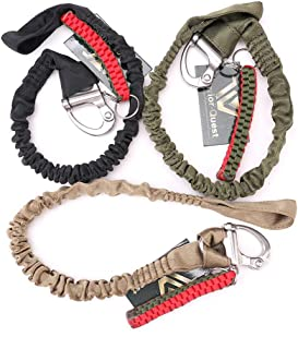 Warrior Quest Quick Release Safety Lanyards Retractable Retention Strap Fall Arrest Safety Harness Fall Protection Military Lanyard ((1323 lbs Loading Capacity)