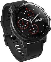 Amazfit Stratos - Smartwatch con GPS y Sensor de frecuencia cardíaca (Resistente al Agua 5ATM) Color Negro - Bluetooth - soporte iOS y Android - Unisex