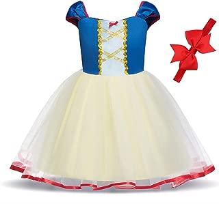 Princess Cinderella Rapunzel Ariel Elsa Anna Snow White Belle Aurora Sofia Alice Dress Costume for Baby Toddler Girls