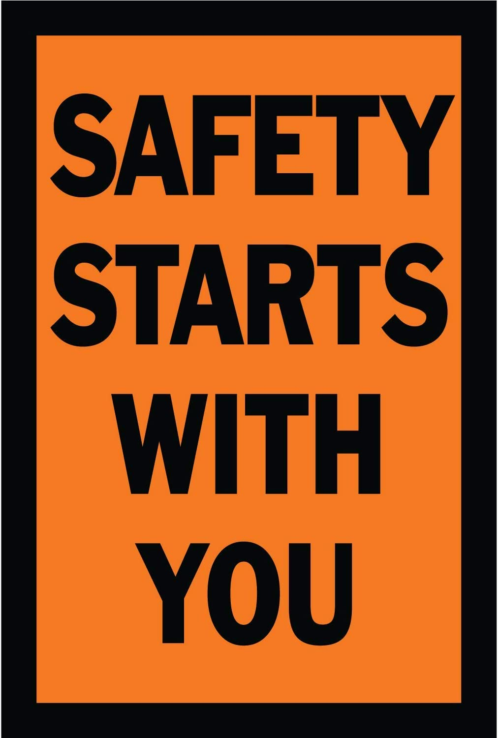 HALF PRICE BANNERS Safety Starts with List price Vinyl You A surprise price is realized Banner-Mesh Wi