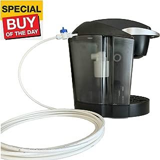 HiBREW Direct Water Line Plumb Kit Water Automatic Refill Compatible with Keurig B40, B41, B44, B45, B50, K40, K45, K50, K55