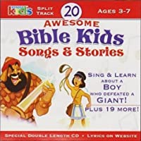 20 Awesome Bible Kids Songs & Stories Ages 3-7 Split Track (2006-05-03)