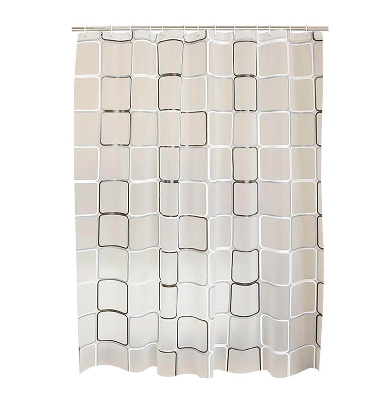 ヒステリックコットン建築家LJBOZ シャワーカーテン、より厚い防水PEVA材料をカットしたカビの予防シャワーカーテン80x180cm、120x200cm、180x200cm、180x220cm、240x190cm、 シャワーカーテン (Size : 200*190cm)